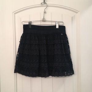 gilly hicks mini skirt